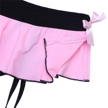 Load image into Gallery viewer, Bikini Thong with attached suspender clips for sissy gurls men