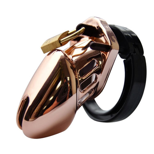 Small Rose Gold Cock Cage