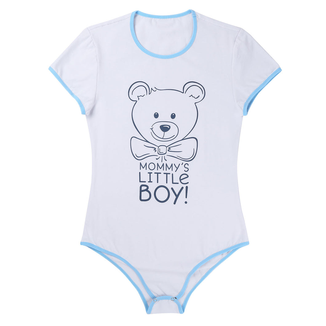 Adult Baby & Diaper Lover ABDL onesie 'Mommy's Little Boy'