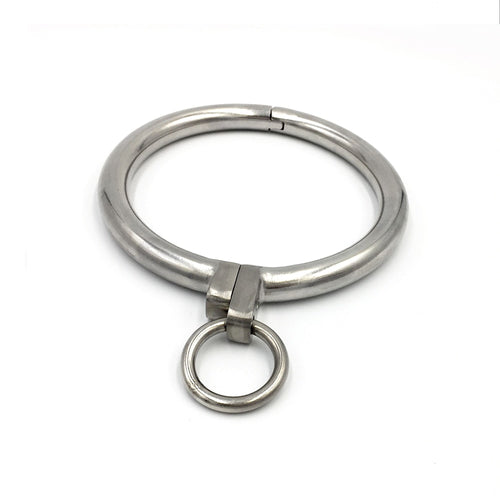 Stainless Steel Sissy Collar Locking