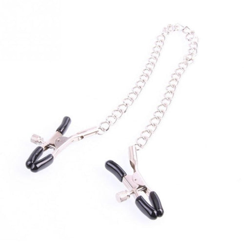 Nipple Clamps Chain Set with screw clamps