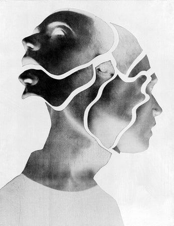 Jesse Draxler, Untitled 2 | Darklight Art | Dark art collectors | Buy art prints | Age of Collage
