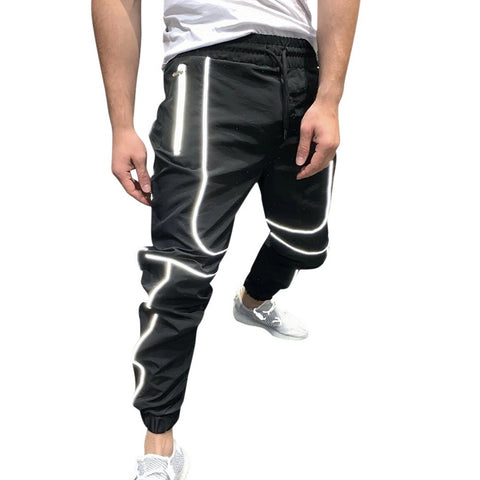Midnight Reflective Joggers