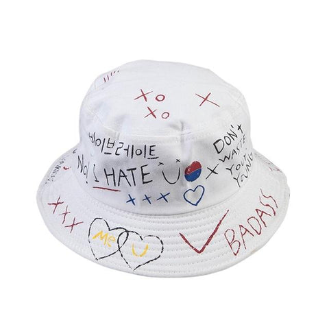 Graffiti Bucket Hat