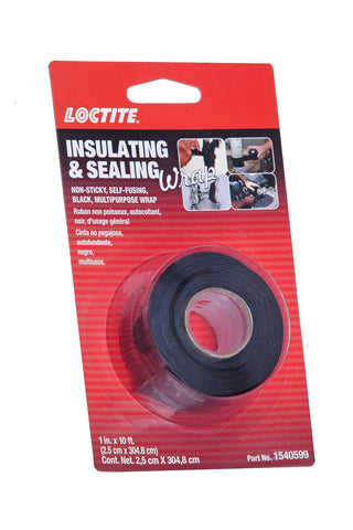 Loctite -5079- Insulating & Sealing Wrap Black- 1540599