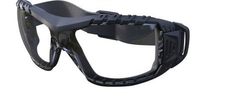 MAXISAFE – Clear Safety Glasses with Gasket and Headband – EVO370-GH