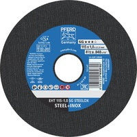 PFERD Cut of Wheel EHT115 1.0mm SG Steelox 61340412
