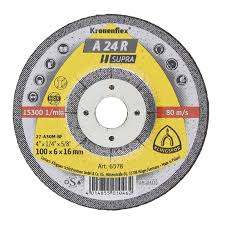 KLINGSPOR - Grinding Disc -Medium 100x6x16- 6578