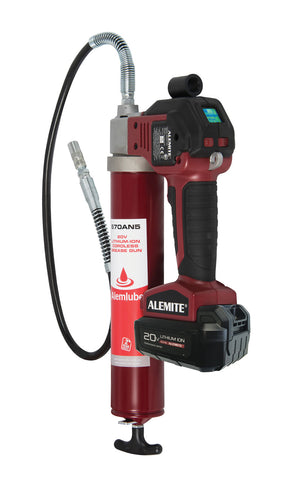 ALEMLUBE 20V LITHIUM-ION CORDLESS GREASE GUN  670AN5