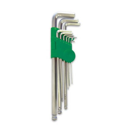 imperial long ball point hex key set - Typhoon Tools - 70613