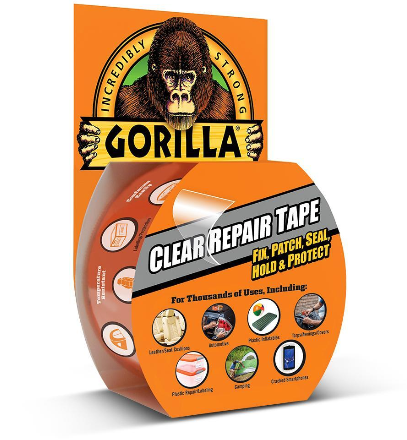 Gorilla Clear Repair Tape 8m x 48mm GG60270
