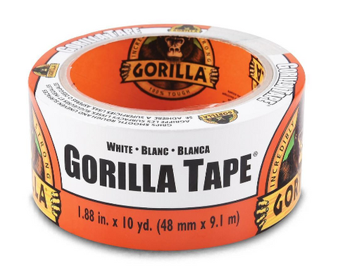 Gorilla White tape - 48mm X 9.1m GG41015
