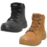 Mack Force Zip Up Safety Boots – MK0FORCEZBBF