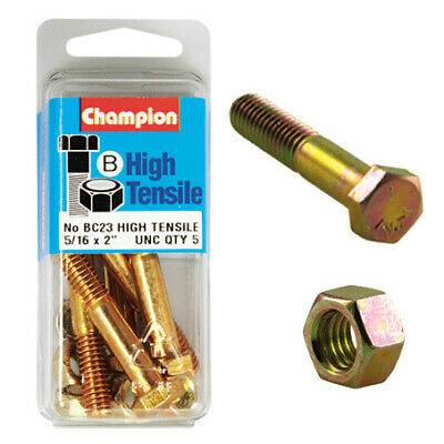 "Champion Bolt and Nuts 2"" x 5/16  BC23"