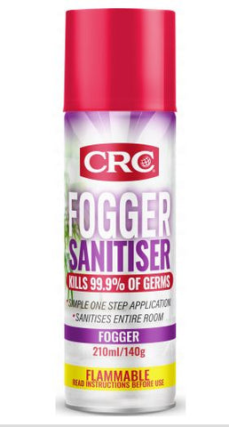 CRC SANITISING FOGGER 210ML 1752197