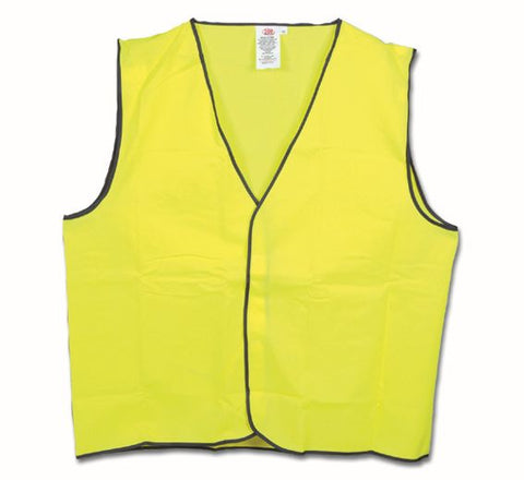 MAXISAFE – Hi-Vis Yellow Safety Vest-Day Use (Class D)-SVV601