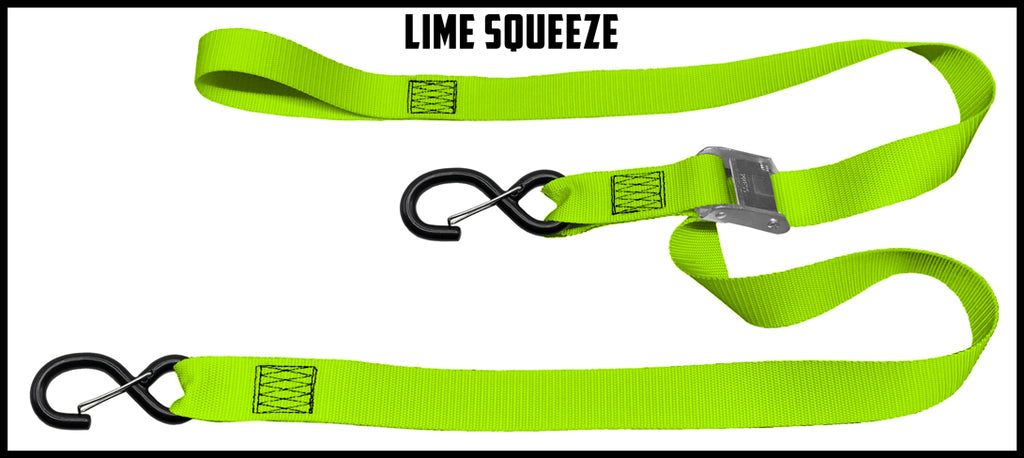 1½ Inch Cam Straps - No Soft Loop (one pair)