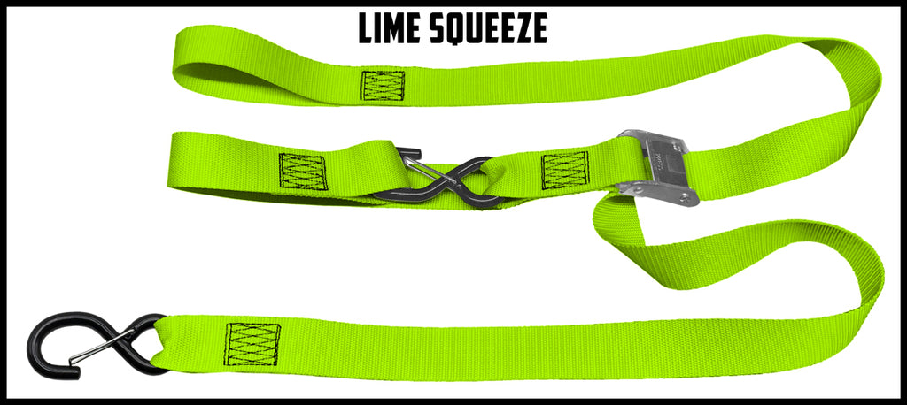 1½ Inch Cam Straps - With Soft Loop (one pair)