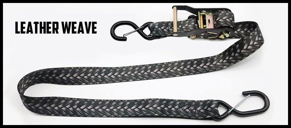 1½ Inch Ratchet Straps - No Soft Loop (one pair)