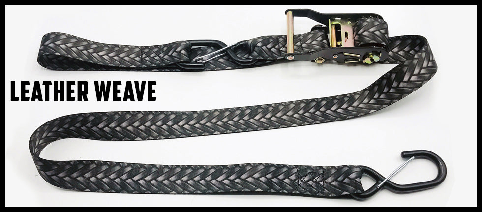 1½ Inch Ratchet Straps - With Soft Loop (one pair)