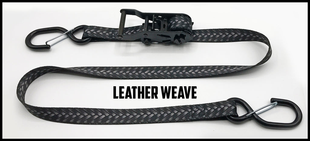 1 Inch Ratchet Straps - No Soft Loop (one pair)
