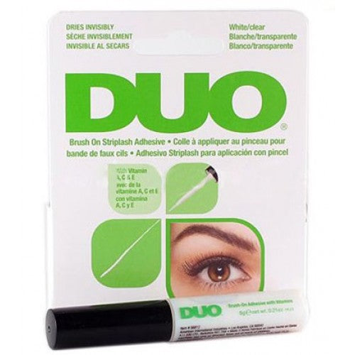 Duo Lash Brush On Striplash Adhesive White/Clear 5gr