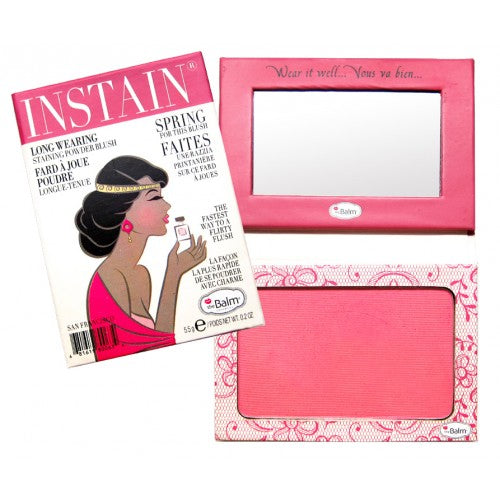 The Balm Cosmetics Instain Lace (Bright Pink) Blush