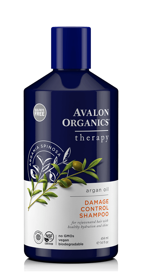 Avalon Organics Damage Control Hair Care with Argan Oil Shampoo 414ml