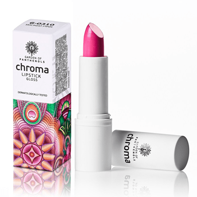 Garden Chroma Lipstick Gloss Wicked Pink G-0310