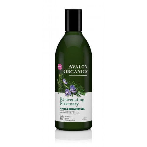 Avalon Organics Rejuvenating Rosemary Bath&Shower Gel 355ml