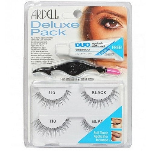 Ardell Natural Style Lashes Deluxe Pack 110 Black Low