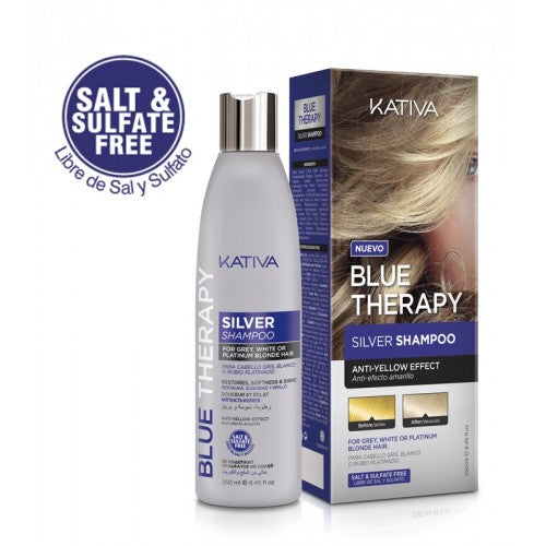 Kativa Blue Therapy Silver Shampoo 250ml