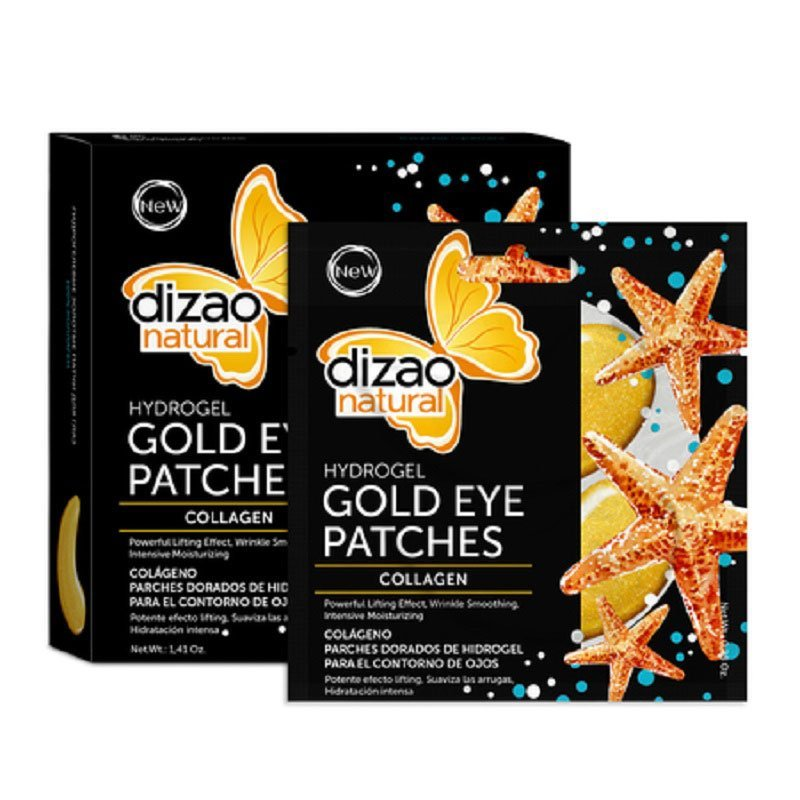 Dizao Natural Mask Gold Eye Patches Collagen 100%