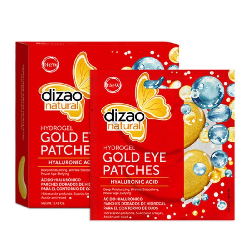 Dizao Natural Mask Gold Eye Patches Hyaluronic 100%