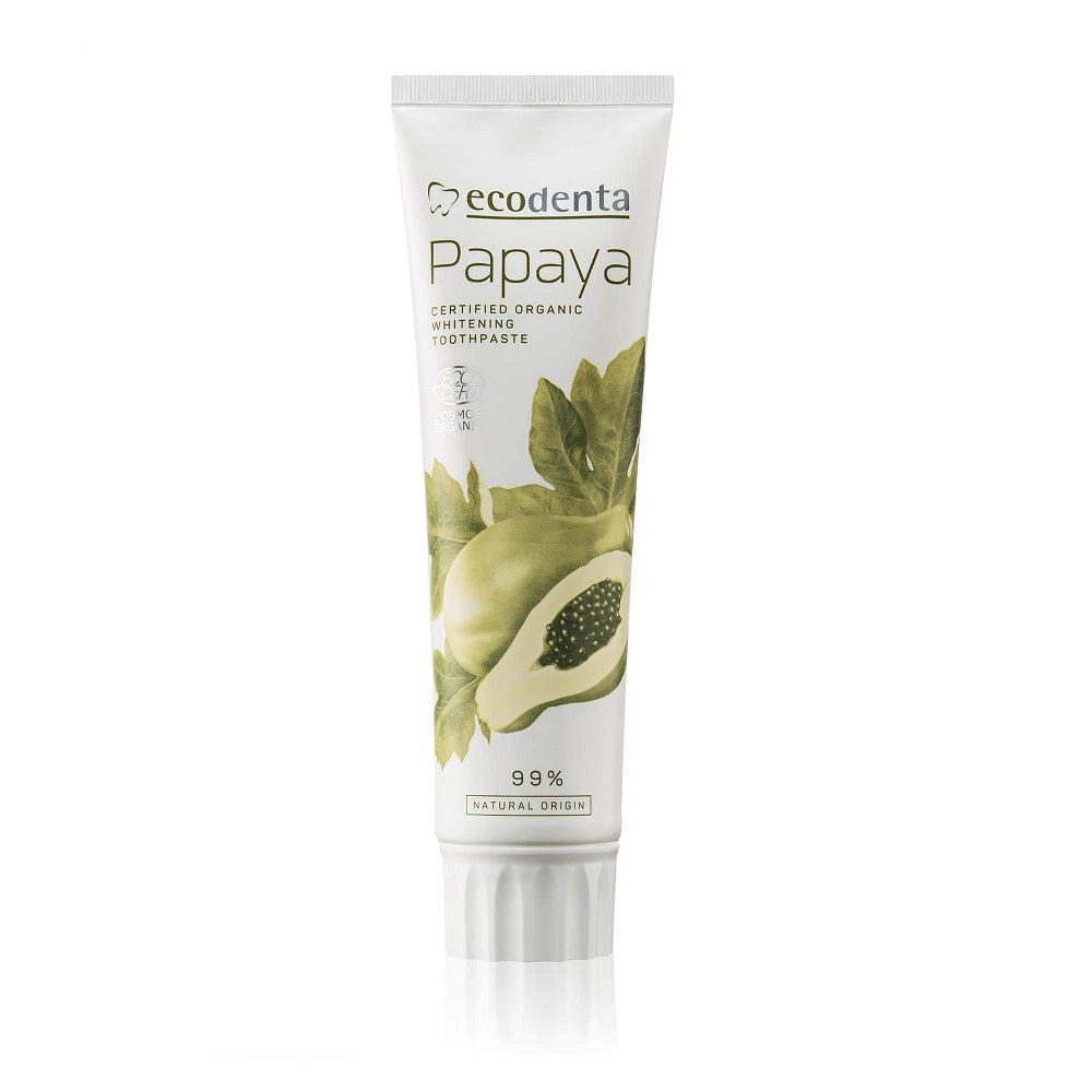 EcoDenta Whitening Toothpaste Papaya 100ml