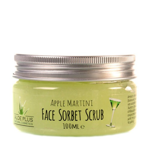 Aloe+Colors Face & Body Sorbet Scrub Apple Martini 100ml