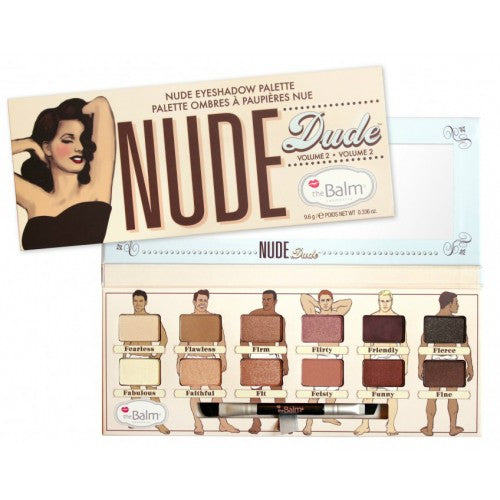 The Balm Cosmetics  Nude Dude Eyeshadow Palette