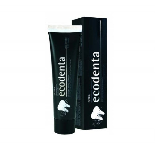EcoDenta Extra Black Whitening Toothpaste 100ml