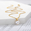 Women's Heart Solitaire Pendant