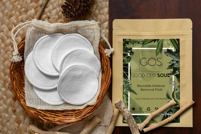 Reusable Makeup Removal Pads - 100% Natural Bamboo Cotton