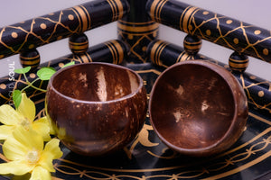 Coconut Shell Bowl - Pack of 2 (~500ml)