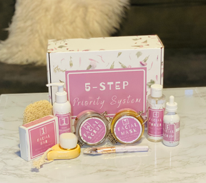 Skin Care Kit | 5- Step Priority System | Priority Skincare