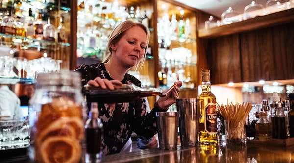 Barmanagerin Laura Driftmann Orania Berlin