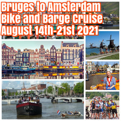 (3 cabins left))Happy in Bruges to Amsterdam August 14th-21st 2021 bike and barge cruise featuring stops in the magical cities of Gouda, Brooklyn, Dordrecht, Zierikzee, Middleburg, Ghent, and Bruges