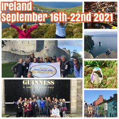 Happy in Ireland September 16th-22nd 2021 ($1500 Shared Room Double Occupancy or $1900 Single Room) featuring stays in Dublin, Killarney, Dingle, Doolin and Bunratty. Tours include Cliffs of Moher, Guiness brewery, Ross Castle, and more!