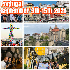 (SOLD OUT)Happy in Portugal September 9th-15th 2021 ( $1400 Shared Room and $1900 Private Room)featuring guided tours of Lisbon, Porto,  Douro Valley wine country wine stomping and fabulous 4 star hotels.