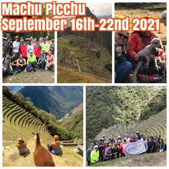 Happy in Machu Picchu, Peru September 16th-22nd 2021 ($1300 shared room, $1600 private room)featuring one day Inca Trail hike, Machu Picchu tour, Cusco city tour, Sacred Valley and Highland School donation.