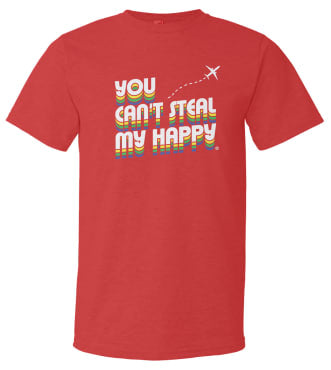 Happy Travels T Shirt