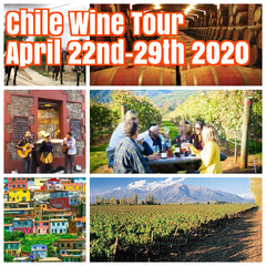 (Sold Out )Happy in Chile April 22nd-29th 2020 ($1550 Shared Room and $1950 Private Room) featuring wine tours, city walking tours, and fabulous hotel stays in Santiago, Santa Cruz, and Valparaiso