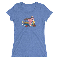 You Can't Steal My Happy Elephant Ladies' Short Sleeve T-Shirt